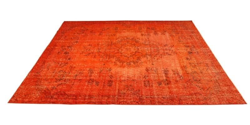 5.7 X 9.1 170 X 276 CM  Orange Vintage Carpet