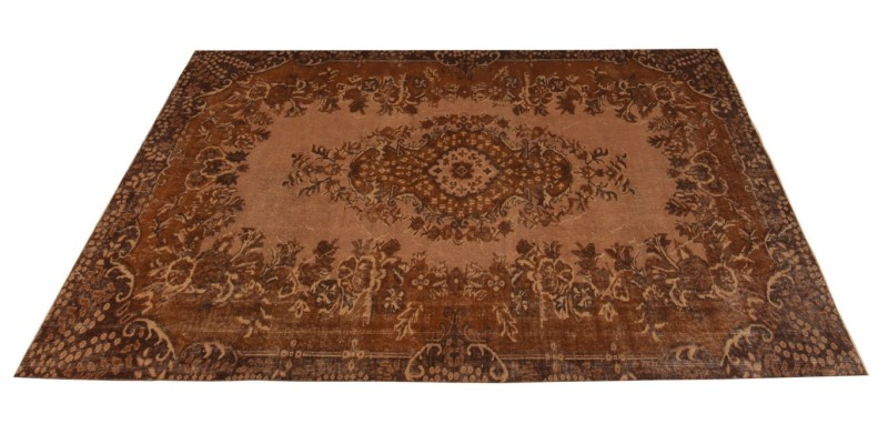 5.7 X 9.6 Ft..  170x290 cm Brown Living Room rug