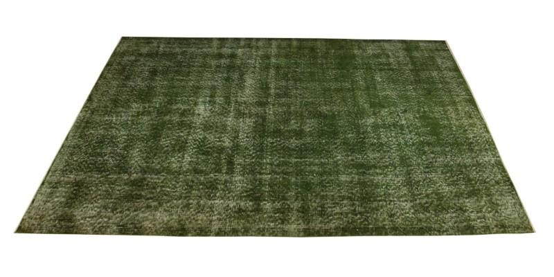 4.10 X 8.8 Ft..147X265 Cm  Simple Pattern Green