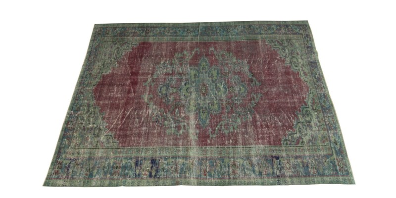 5.4 X 7.8 FT.. 163X234 CM Antique Faded Turkish Rug