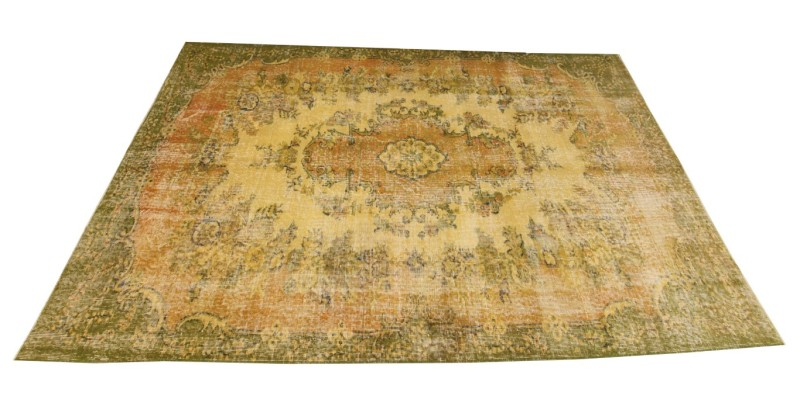 5.8 x 9.2 Ft.. 172x280 cm  Colorful Faded Turkish Carpet