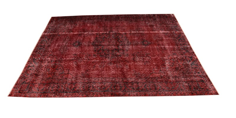 5.1 X 7.8 Ft.. 156x235 cm Red Dining Room Rug,