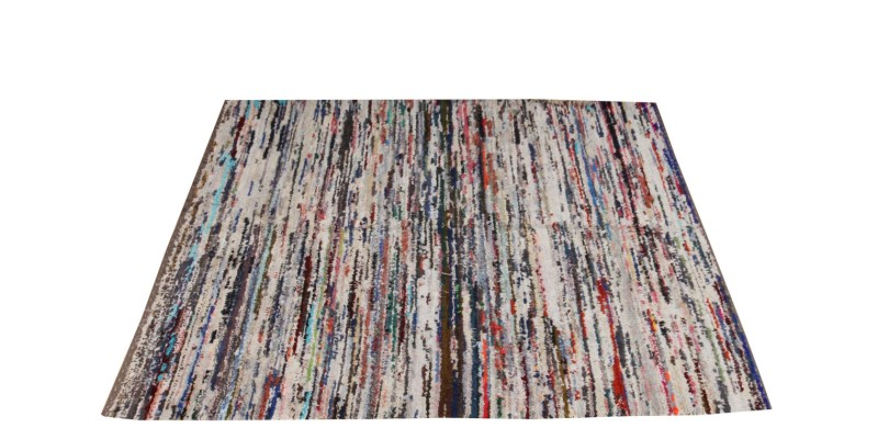 6.6 X 8.2 Ft..200x250 cm  Colorful Shaggy rug