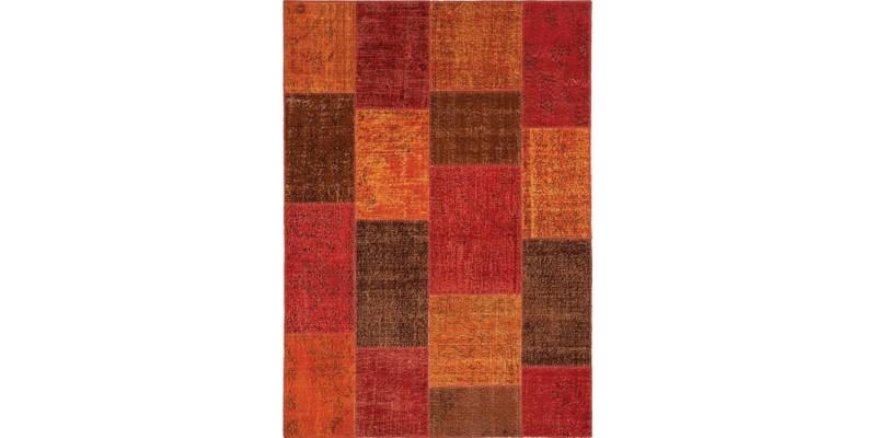 Turkish Patchwork rug, Vintage Handmade Rug , Anatolian Rug , Modern Rug , Bohemian Rug  , %100 Wool Rug , Area Rug