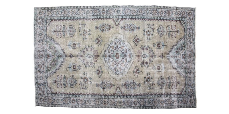 4.9 x 8 Ft..  145 x 245 cm Abstract Nomadic Deco Area Rug